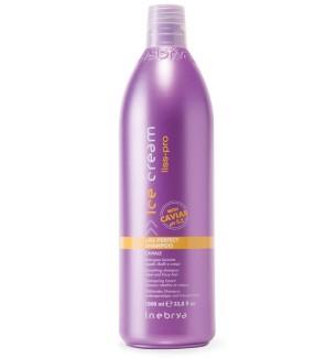 Shampoo Lisciante al caviale per capelli crespi e ribelli 1000ml