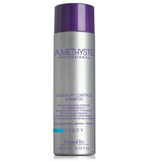 Shampoo Antiforfora Amethyste Purify Dandruff Control 250 ML - prodotti per parrucchieri - hairevolution prodotti