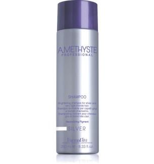 Shampoo Antigiallo Ravvivante Amethyste Silver per capelli grigi o biondi - prodotti per parrucchieri - hairevolution prodotti
