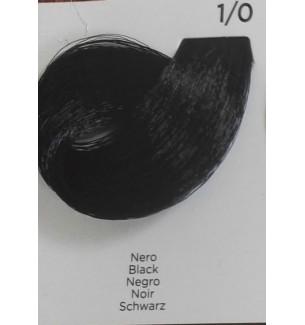 Tinta per capelli colore Nero 1/0 100 ml Inebrya Color - prodotti per parrucchieri - hairevolution prodotti