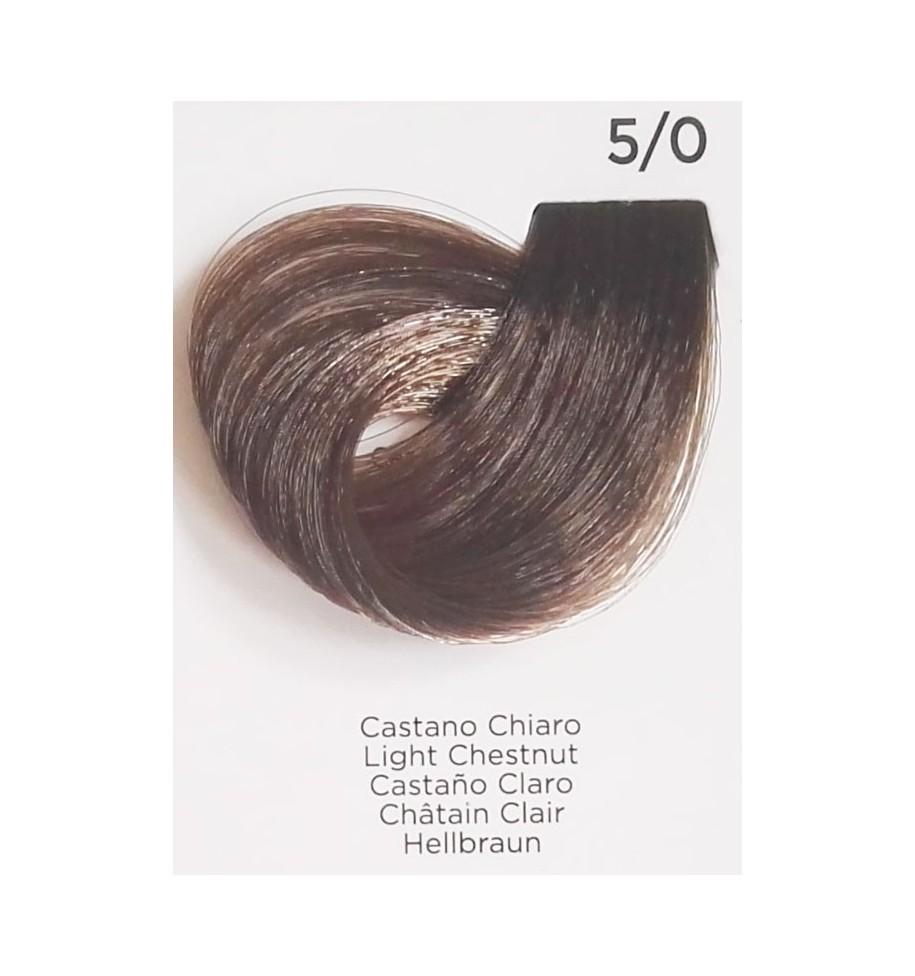 Tinta Castano Chiaro 5/0 100 ml Inebrya Color - prodotti per parrucchieri - hairevolution prodotti