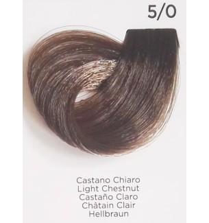 Tinta Castano Chiaro 5/0 100 ml Inebrya Color
