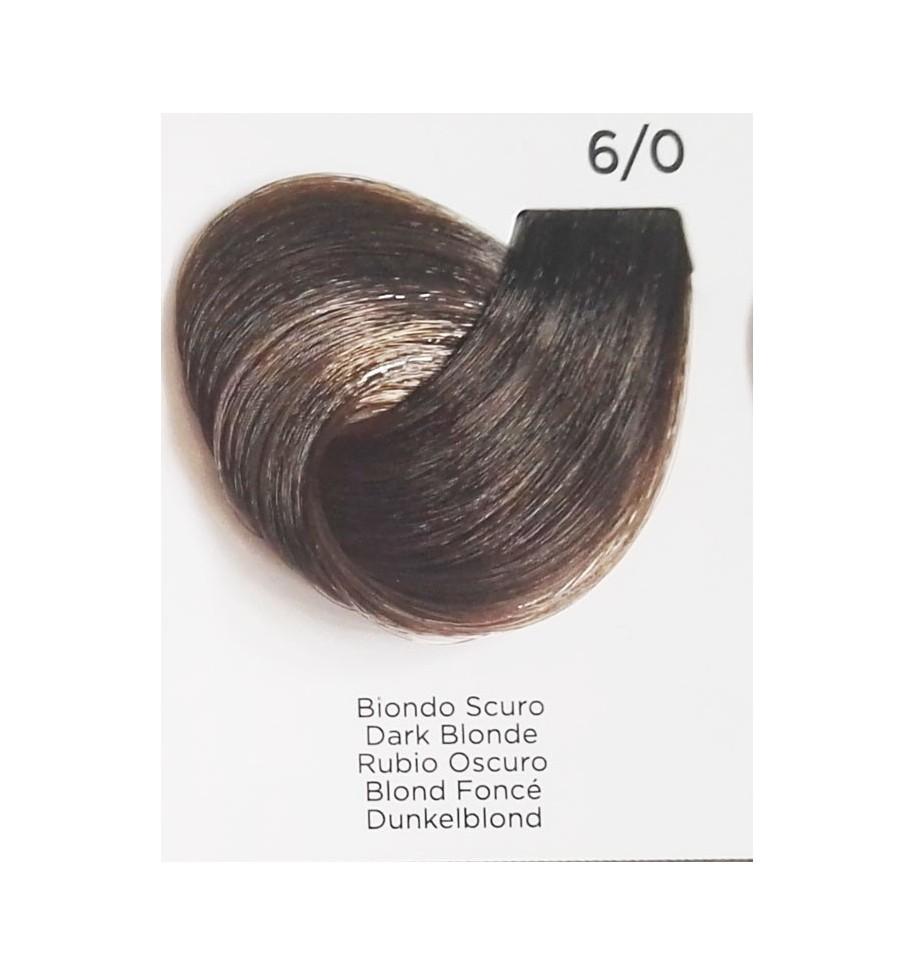 Tinta Biondo Scuro 6/0 100 ml Inebrya Color - prodotti per parrucchieri - hairevolution prodotti