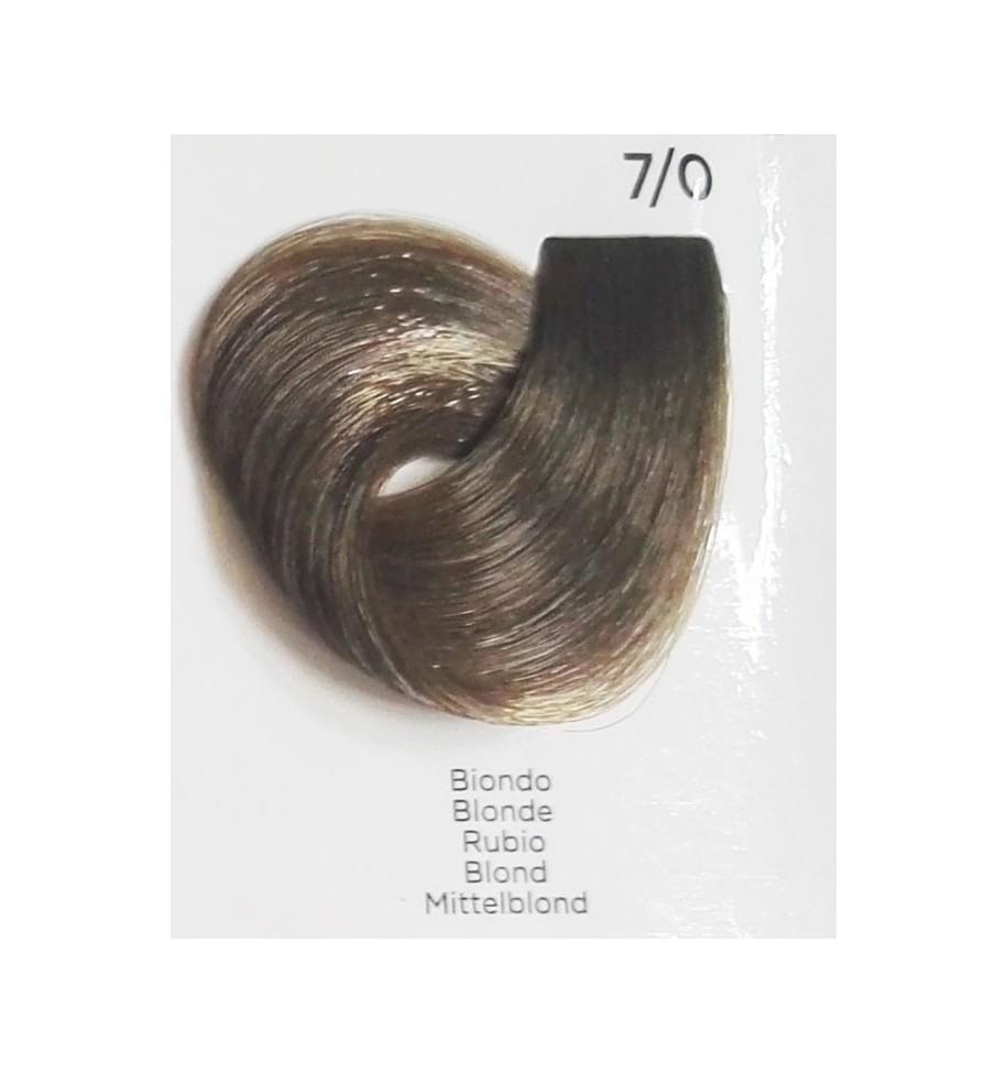 Tinta per capelli Biondo 7/0 100 ml Inebrya Color - prodotti per parrucchieri - hairevolution prodotti