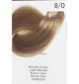 Tinta Biondo Chiaro 8/0 100 ml Inebrya Color - prodotti per parrucchieri - hairevolution prodotti