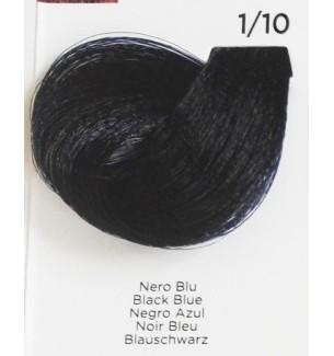 Tinta per capelli Nero BLU 1/10 100 ml Inebrya Color - prodotti per parrucchieri - hairevolution prodotti