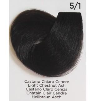 Tinta per capelli Castano Chiaro Cenere 5/1 100 ml Inebrya Color - prodotti per parrucchieri - hairevolution prodotti