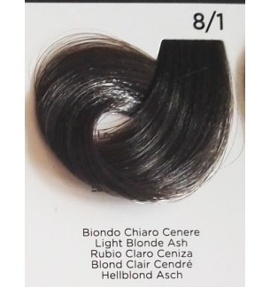 Tinta Biondo Chiaro Cenere 8/1 100 ml Inebrya Color - prodotti per parrucchieri - hairevolution prodotti