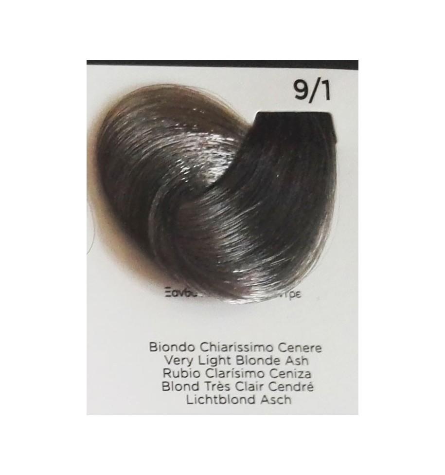 Tinta Biondo Chiarissimo Cenere 9/1 100 ml Inebrya Color - prodotti per parrucchieri - hairevolution prodotti