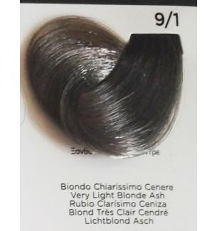 Tinta Biondo Chiarissimo Cenere 9/1 100 ml Inebrya Color