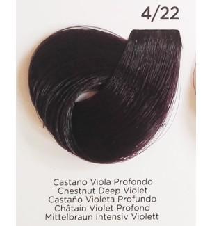 Tinta Castano Viola Profondo 4/22 Inebrya Color - prodotti per parrucchieri - hairevolution prodotti