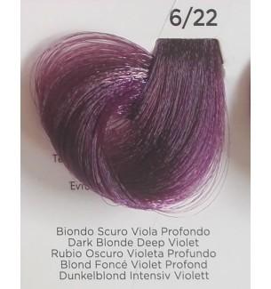 INEBRYA COLOR Tintura 6/22 Biondo Scuro Viola Profondo 100 ml