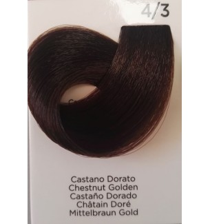 Tinta per capelli Castano Dorato 4/3 Inebrya Color - prodotti per parrucchieri - hairevolution prodotti