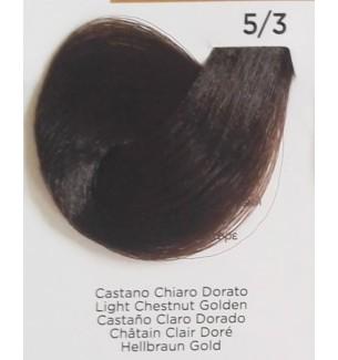 Tinta per capelli colore Castano Chiaro Dorato 5/3 Inebrya Color - prodotti per parrucchieri - hairevolution prodotti