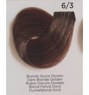 Tinta colore Biondo Scuro Dorato 6/3 Inebrya Color - prodotti per parrucchieri - hairevolution prodotti