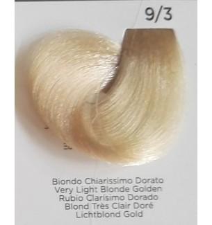 Tinta per Capelli Colore Biondo Chiarissimo Dorato 9/3 Inebrya Color - prodotti per parrucchieri - hairevolution prodotti