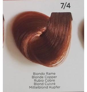 Tinta per capelli Biondo Rame 7/4 Inebrya Color - prodotti per parrucchieri - hairevolution prodotti