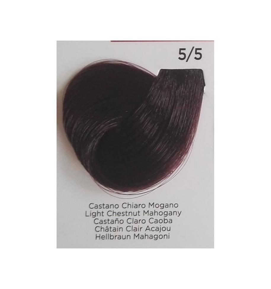 Tinta per Capelli Castano Chiaro Mogano 5/5 Inebrya Color - prodotti per parrucchieri - hairevolution prodotti