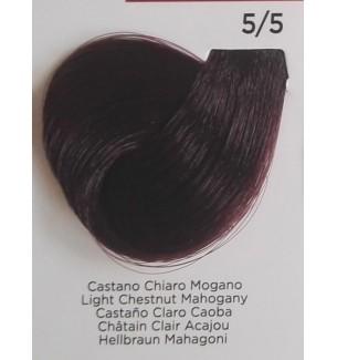 Tinta per Capelli Castano Chiaro Mogano 5/5 Inebrya Color