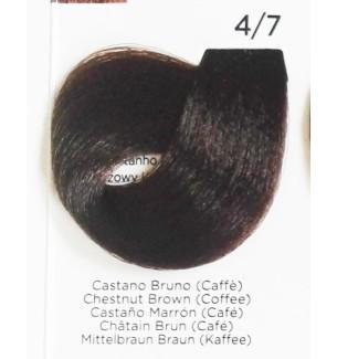 Tinta Castano Bruno (Caffé) 4/7 Inebrya Color - prodotti per parrucchieri - hairevolution prodotti