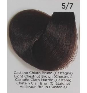 Tinta Castano Chiaro Bruno (Castagna) 5/7 Inebrya Color - prodotti per parrucchieri - hairevolution prodotti