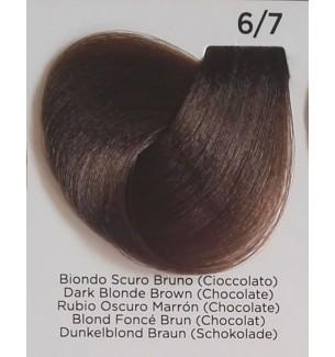 Tinta per capelli Biondo Scuro Bruno (Cioccolato) 6/7 100 ml Inebrya Color - prodotti per parrucchieri - hairevolution prodotti