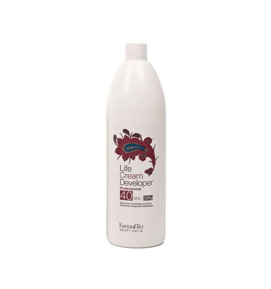 Ossigeno 40 Volumi per capelli 1000 ml Farmavita - prodotti per parrucchieri - hairevolution prodotti