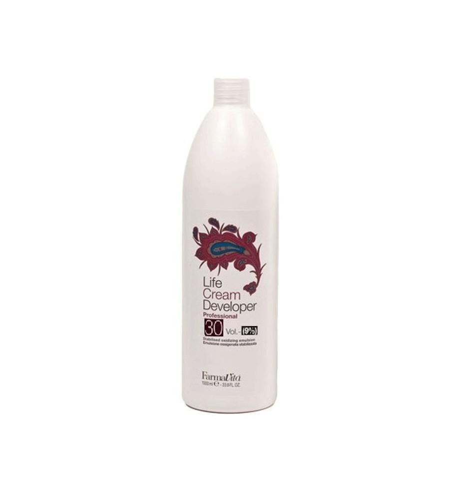 Ossigeno 30 Volumi per capelli 1000 ml Farmavita - prodotti per parrucchieri - hairevolution prodotti