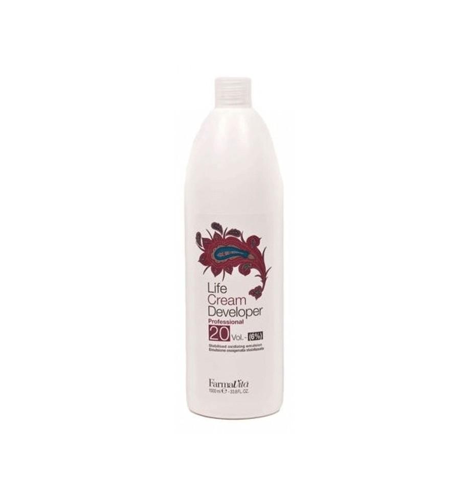 Ossigeno 20 Volumi per capelli 1000 ml Farmavita - prodotti per parrucchieri - hairevolution prodotti