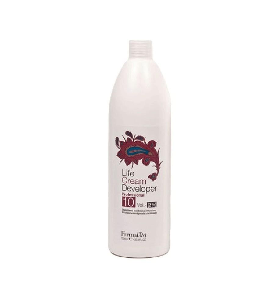 Ossigeno 10 Volumi per capelli 1000 ml Farmavita - prodotti per parrucchieri - hairevolution prodotti