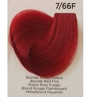 Tinta Biondo Rosso Fuoco 7/66F 100 ml Inebrya Color - prodotti per parrucchieri - hairevolution prodotti