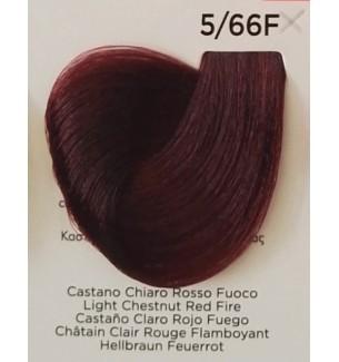 Tinta Castano Chiaro Rosso Fuoco 5/66F 100 ml Inebrya Color - prodotti per parrucchieri - hairevolution prodotti