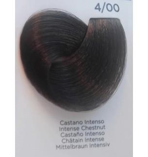 Tinta per capelli Castano Intenso 4/00 100 ml Inebrya Color