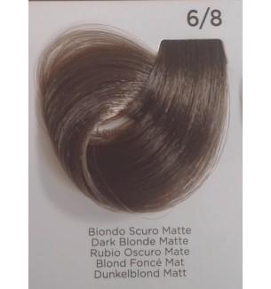 Tinta Biondo Scuro Matte 6/8 100 ml Inebrya Color - prodotti per parrucchieri - hairevolution prodotti