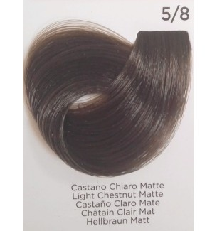 Tinta per capelli Castano Chiaro Matte 5/8 100 ml Inebrya Color - prodotti per parrucchieri - hairevolution prodotti