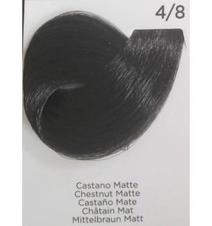 Tinta per capelli Castano Matte 4/8 100 ml Inebrya Color - prodotti per parrucchieri - hairevolution prodotti