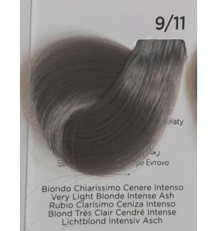 Tinta Biondo Chiarissimo Cenere Intenso 9/11 100 ml Inebrya Color - prodotti per parrucchieri - hairevolution prodotti
