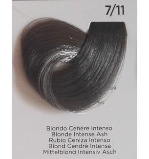 Tinta Biondo Cenere Intenso 7/11 100 ml Inebrya Color - prodotti per parrucchieri - hairevolution prodotti