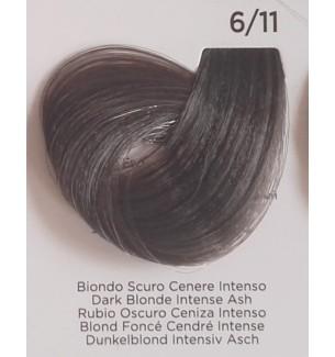 Tinta Biondo Scuro Cenere Intenso 6/11 100 ml Inebrya Color - prodotti per parrucchieri - hairevolution prodotti