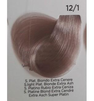 Tinta Super Platino Biondo Extra Cenere 12/1 100 ml Inebrya Color - prodotti per parrucchieri - hairevolution prodotti