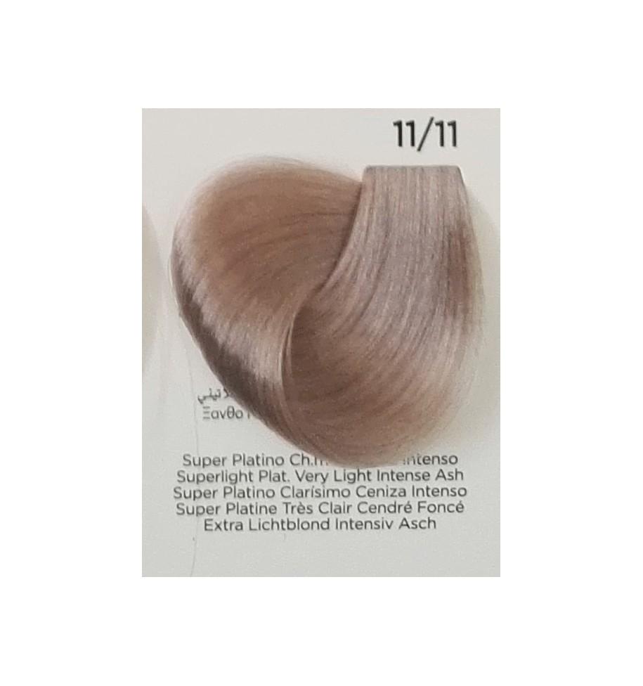 Tinta Super Platino Chiarissimo Cenere Intenso 11/11 100 ml Inebrya Color - prodotti per parrucchieri - hairevolution prodotti