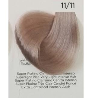 Tinta Super Platino Chiarissimo Cenere Intenso 11/11 100 ml Inebrya Color