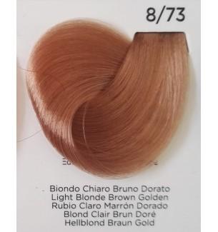 BIONDO CHIARO BRUNO DORATO 8/73 100 ml Inebrya Color - prodotti per parrucchieri - hairevolution prodotti