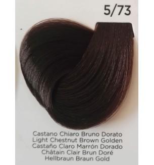 Tinta Castano Chiaro Bruno Dorato 5/73 100 ml Inebrya Color - prodotti per parrucchieri - hairevolution prodotti