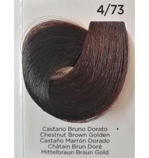 Tinta Castano Bruno Dorato 4/73 100 ml Inebrya Color - prodotti per parrucchieri - hairevolution prodotti