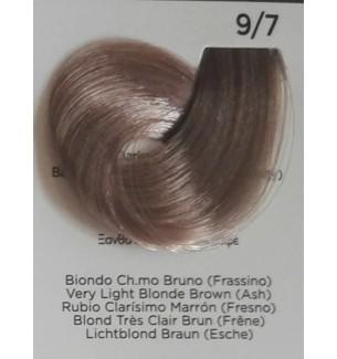 Tinta per capelli Biondo Chiarissimo Bruno (Frassino) 9/7100 ml Inebrya Color