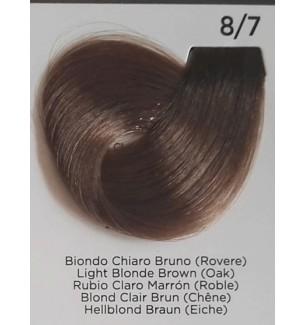 Tinta Biondo Chiaro Bruno (Rovere) 8/7 100 ml Inebrya Color - prodotti per parrucchieri - hairevolution prodotti