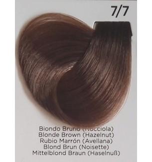 Tinta Biondo Bruno (Nocciola) 7/7 100 ml Inebrya Color - prodotti per parrucchieri - hairevolution prodotti