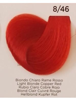 Tinta Biondo Chiaro Rame Rosso 8/46 Inebrya Color - prodotti per parrucchieri - hairevolution prodotti