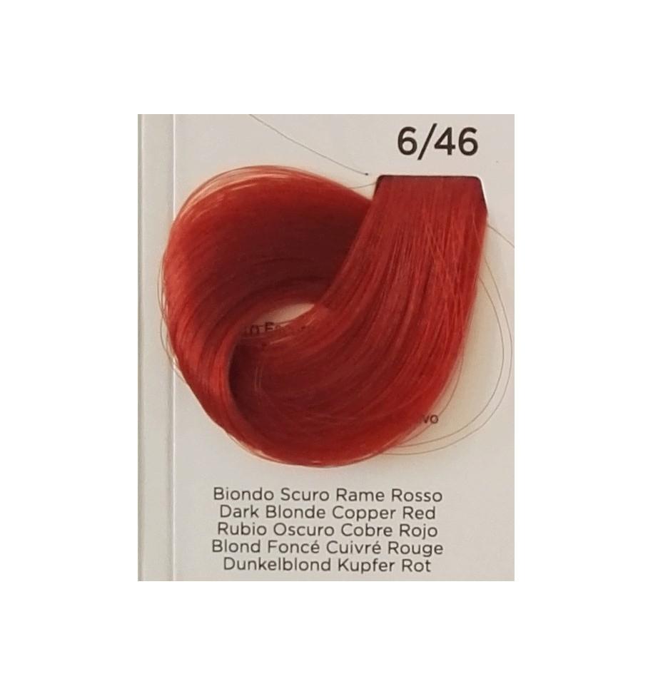 Tinta Biondo Scuro Rame Rosso 6/46 Inebrya Color - prodotti per parrucchieri - hairevolution prodotti